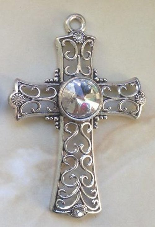 IlluminEssence celtic cross - clear