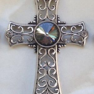 IlluminEssence celtic cross - grey