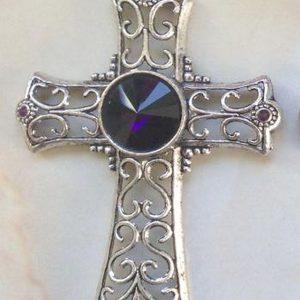 IlluminEssence celtic cross - purple